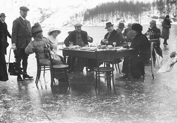 Picnic on ice at Saint-Moritz | © Swiss National Museum